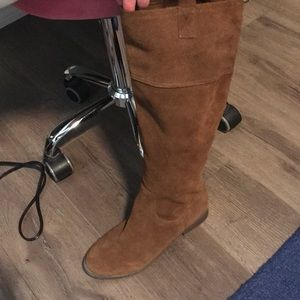 American Eagle Leather Suede Boots 8.5 8 1/2